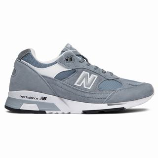 New Balance 991.5 Made in UK Mens Casual Shoes Light Grey White (WIAR2362)