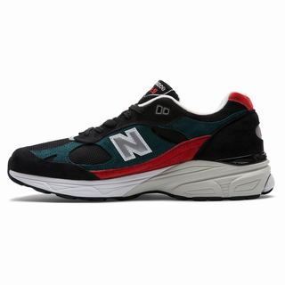 New Balance 991.9 Made in UK Mens Casual Shoes Black Red (LSEN3194)