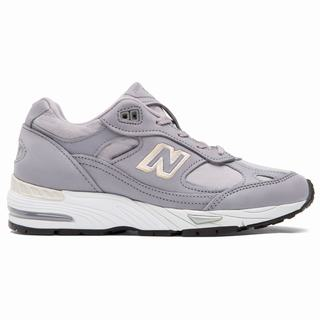 New Balance 991 Made in UK Nubuck Womens Casual Shoes Purple Pink (FPCJ2405)