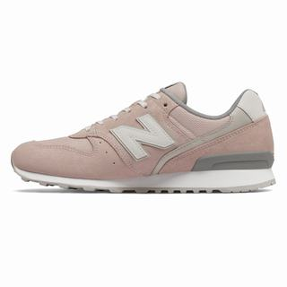 New Balance 996 Womens Casual Shoes Pink Grey (EBRN5624)