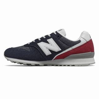 New Balance 996 Womens Casual Shoes Navy Deep Red (BKXT1285)