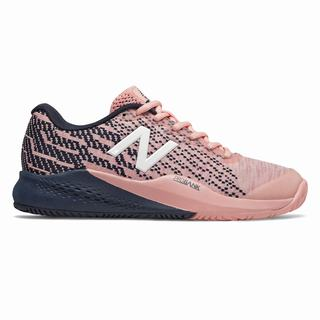 New Balance 996v3 Womens Tennis Shoes Pink Navy (TVJR3124)