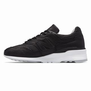 New Balance 997 Bison Made in US Mens Casual Shoes Black Grey (SZGB4084)