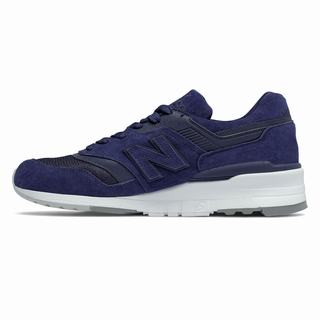 New Balance 997 Made in US Color Spectrum Mens Casual Shoes Navy (DQYF3546)