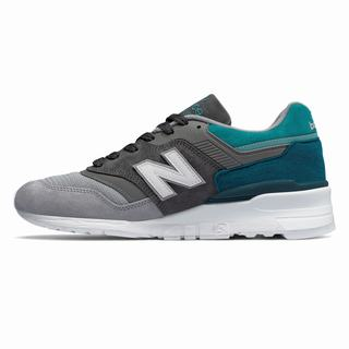 New Balance 997 Made in US Color Spectrum Mens Casual Shoes Grey Blue (IOJY3860)