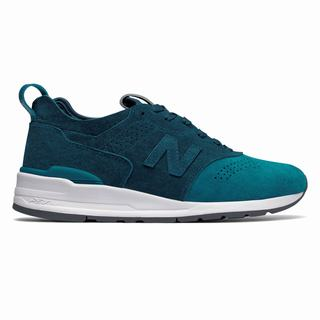 New Balance 997 Made in US Color Spectrum Mens Casual Shoes Blue (MZAQ8903)