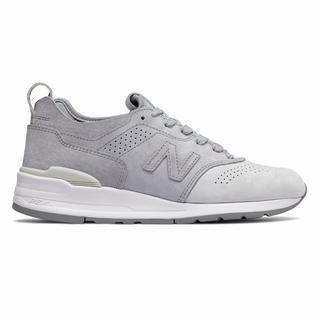 New Balance 997 Made in US Color Spectrum Mens Casual Shoes Light Grey Silver (GAJI1410)