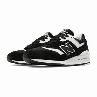 New Balance 997 Mens Casual Shoes Black White (MAQT2738)