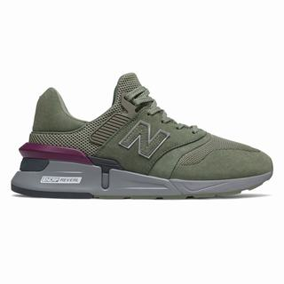 New Balance 997 Sport Mens Casual Shoes Green Grey (XOCH4717)