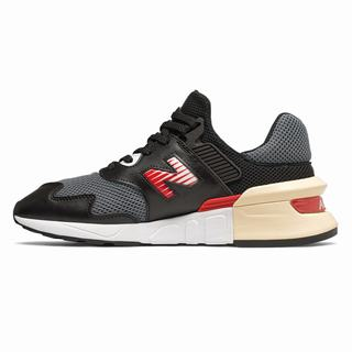 New Balance 997 Sport Mens Chunky Trainers Black Red (MCEG8168)