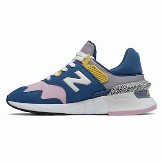 New Balance 997 Sport Womens Casual Shoes Blue Pink  (EKMA9613)