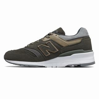 New Balance 997 Winter Peaks Mens Casual Shoes Green Grey (MBDL7583)