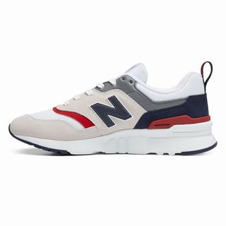New Balance 997H LFC Kids Casual Shoes White Navy Red (DHJN1480)