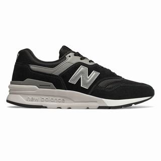 New Balance 997H Mens Casual Shoes Black Silver (VHFY5165)