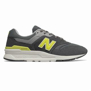 New Balance 997H Mens Casual Shoes Dark Grey Yellow  (AUGX2005)