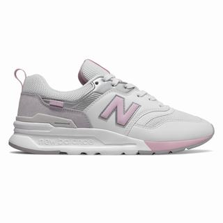 New Balance 997H Womens Casual Shoes White Rose (QTYW6390)