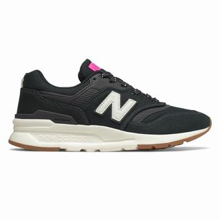 New Balance 997H Womens Casual Shoes Black Pink (GXMC9559)
