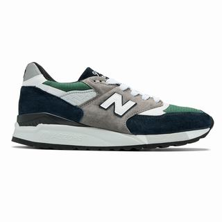 New Balance 998 Made in US Mens Casual Shoes Blue Green (IYRN8437)