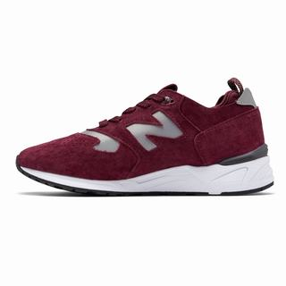New Balance 999 Made in US Mens Casual Shoes Burgundy White (YZAQ2884)