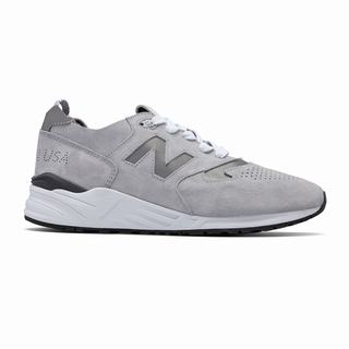 New Balance 999 Made in US Mens Casual Shoes Grey White (RMXE6582)