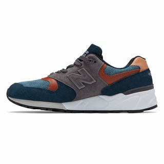New Balance 999 Made in US Mens Casual Shoes Navy Grey (WFXU8385)