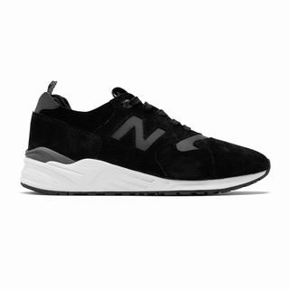 New Balance 999 Made in US Mens Chunky Trainers Black White (FQDS1511)
