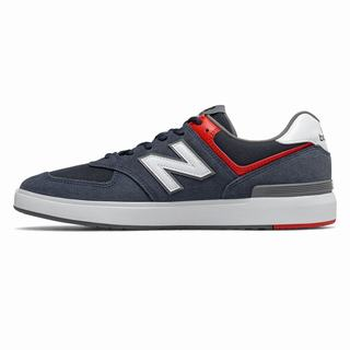 New Balance All Coasts 562 Mens Casual Shoes Navy White (YPGM9028)