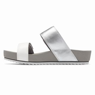 New Balance City Slide Womens Sandals Silver (QPLO9403)