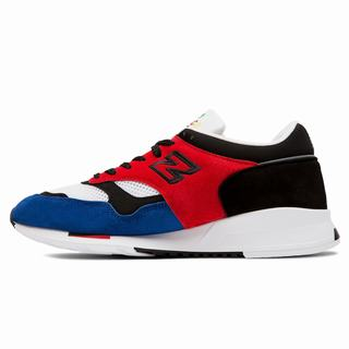 New Balance Color Prisma Made in UK 1500 Mens Casual Shoes Red Black Blue (NYJE5914)