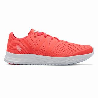 New Balance Fresh Foam Crush Womens Casual Shoes Coral White (NCVP7365)