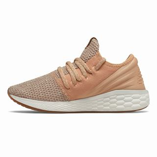 New Balance Fresh Foam Cruz Decon Womens Casual Shoes Light Apricot (SPUY8384)