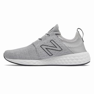 New Balance Fresh Foam Cruz Retro Hoodie Mens Casual Shoes Silver (IPTJ2426)