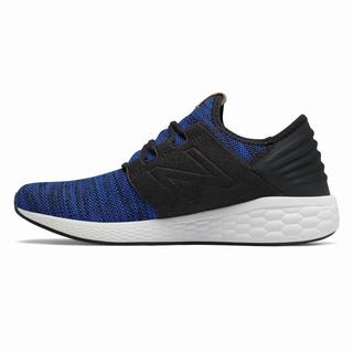 New Balance Fresh Foam Cruz v2 Knit Mens Casual Shoes Royal Black (LSNR3639)