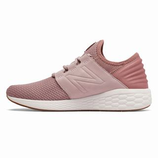 New Balance Fresh Foam Cruz v2 Nubuck Womens Training Shoes Pink (OFDP6972)