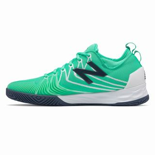 New Balance Fresh Foam Lav Mens Tennis Shoes Turquoise White (WDFZ2036)