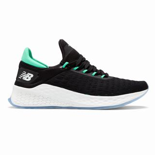 New Balance Fresh Foam Lazr v2 Hypoknit Mens Running Shoes Black Turquoise (WIRY3062)