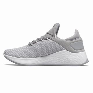 New Balance Fresh Foam Lazr v2 Sport Womens Training Shoes White Grey (FEAB3401)