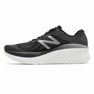 New Balance Fresh Foam More Womens Casual Shoes Black Light Black (TJUP1623)
