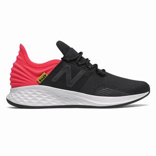 New Balance Fresh Foam Roav Kids Casual Shoes Black Red (UBNG8328)