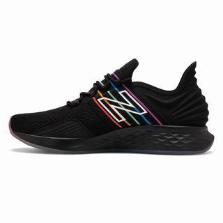New Balance Fresh Foam Roav Pride Pack Womens Casual Shoes Black Multicolor (ZPHA7051)