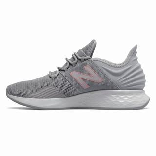 New Balance Fresh Foam Roav Womens Casual Shoes Light Grey Metal (XHWO1842)