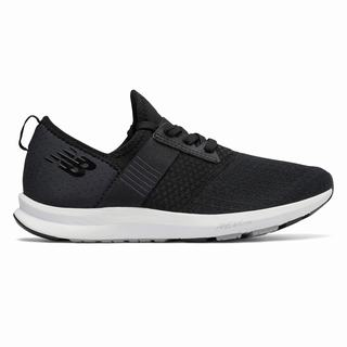 New Balance FuelCore NERGIZE Womens Walking Shoes Black Grey White (VJXG8018)