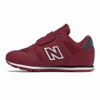 New Balance Hook and Loop 373 Kids Casual Shoes Burgundy Black (FTVK8062)