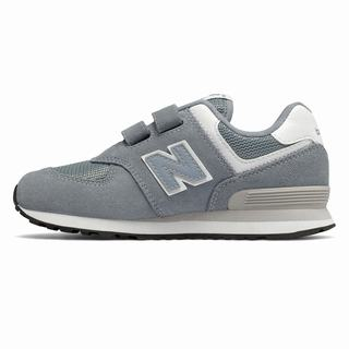 New Balance Hook and Loop 574 Kids Casual Shoes Light Blue Grey (EYNX2082)