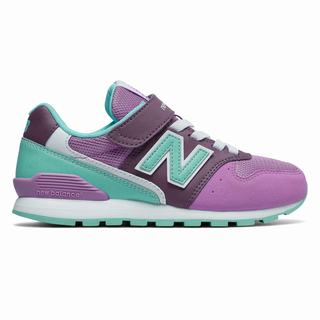 New Balance Hook and Loop 996v2 Kids Running Shoes Purple (SPQF5997)