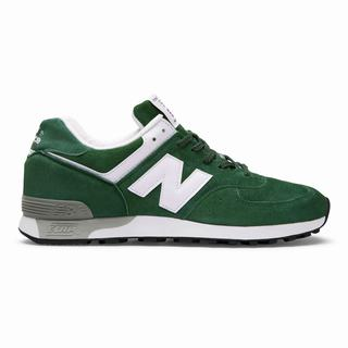 New Balance Made in UK 576 Colour Circle Mens Casual Shoes Green White (EXZJ3282)