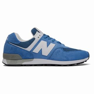 New Balance Made in UK 576 Colour Circle Mens Casual Shoes White Blue (KXYH3845)