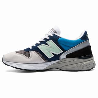 New Balance Made in UK 770.9 Mens Casual Shoes Blue Grey Green (EXDP7773)