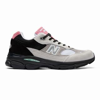 New Balance Made in UK 991.9 Mens Casual Shoes White Black Grey (HEWD5312)