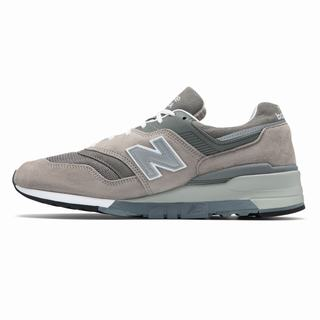 New Balance Made in US 997 Mens Casual Shoes Grey White (REVZ9859)